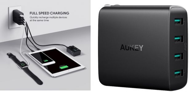 Deals Spotlight: Get Aukey's USB Wall Chargers for as Low as $7 This Week