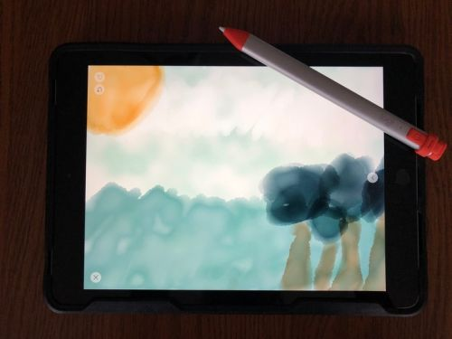 Does the iPad Air 3 work with the Logitech Crayon?