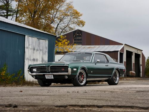 Ringbrothers 1968 Cougar uses modern Mustang power