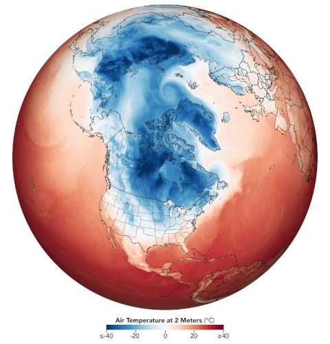 Tested: Idea that sea ice steadies jet stream, blocking cold winters