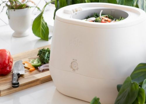 Lomi transforms food waste into compost at the press of a button