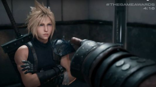 Final Fantasy VII Remake just got a jaw-dropping new trailer at the Game Awards