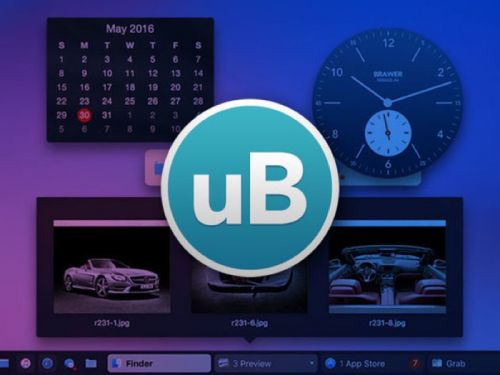 Save 50% on the uBar 4 Toolbar for Mac
