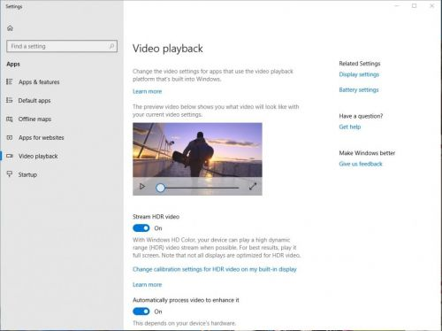 Windows 10 Tip: Improvements to the HDR video experience