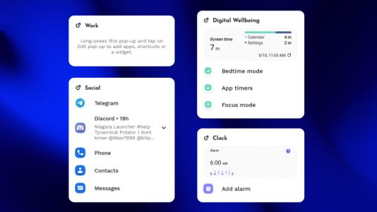 Niagara Launcher v1.2 beta adds app pop-ups and much more