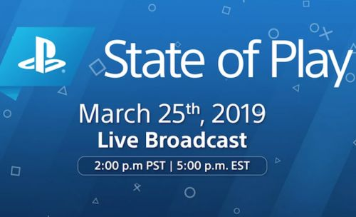 Sony To Reveal New Games During State Of Play Broadcast