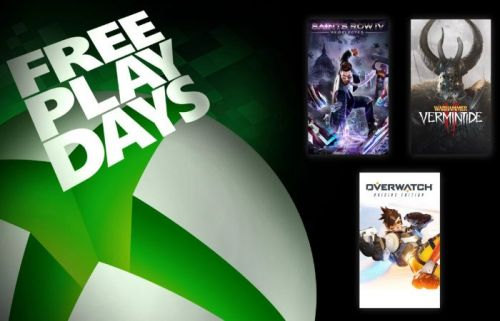 Latest Xbox Free Play Days games land today