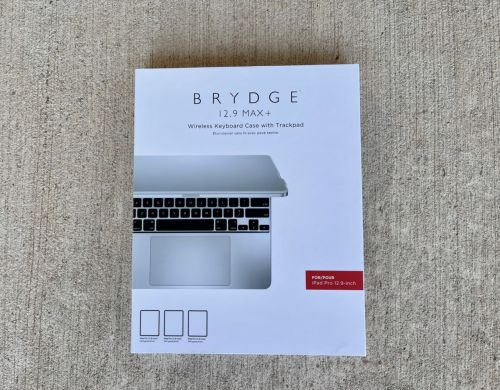 First Look: Brydge 12.9 Max+ Wireless Keyboard Case with Trackpad