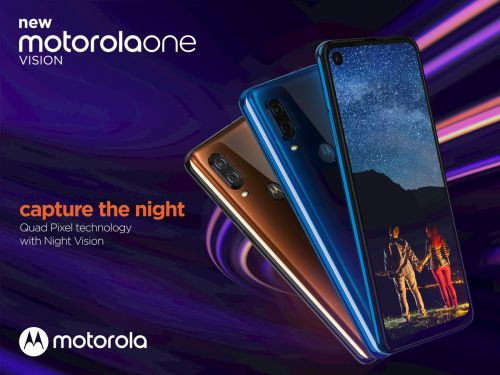 Motorola Unveils One Vision, Its First Phone Powered By Samsung