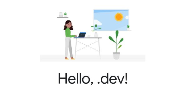 Google announces .dev top-level domain, open registration in February