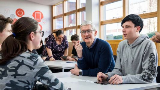 Tim Cook talks iPhone addiction, Paradise Papers, and more in new interview
