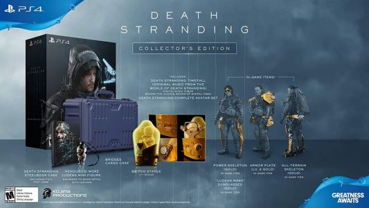 Check out this insane deal on Death Stranding PlayStation 4 Collector's Edition