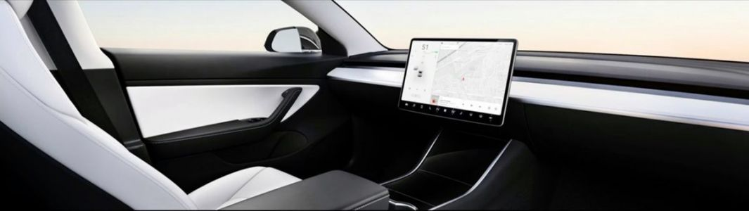Tesla Shows Off A Car Without A Steering Wheel