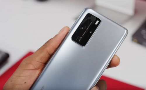 Huawei P40 Pro shown off on video