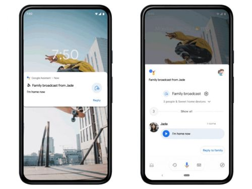 The Google Assistant is now a Google messaging service