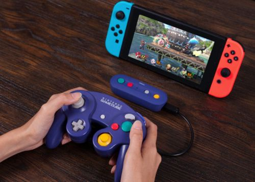 8BitDo GameCube wireless controller adapter for Switch