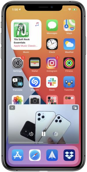IOS 14: Picture in Picture Mode