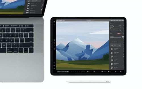 Pixelmator Pro just added a ton of new features, including Sidecar support