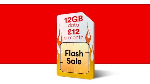 Virgin Mobile SIM only flash sale: 12GB of data for just £12 a month deal
