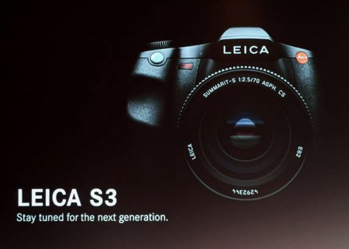 Leica S3 64 megapixel medium format camera teased at Photokina 2018