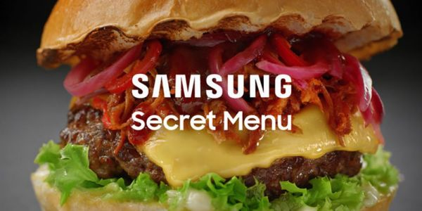 Samsung phones in the UK get access to a weird 'Secret Menu' for select eateries