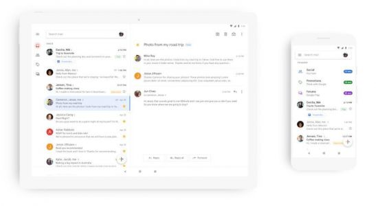 Gmail's Redesign Is Rolling Out To All Android Users