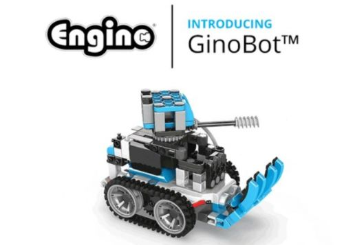 Lear to code with the GinoBot programmable robot