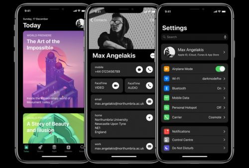 IOS 12 concept fixes issues in iOS 11 and adds a ton of new features