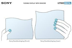 Sony patents flexible display with built-in sensors