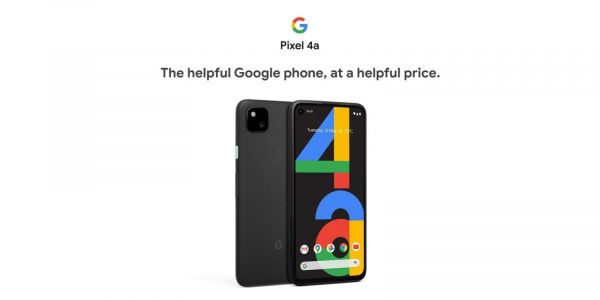 Pixel 4a advertised as 'helpful Google phone, at a helpful price' in first retail listings