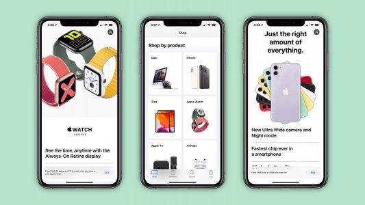 Apple Store app redesigned with new shopping experience