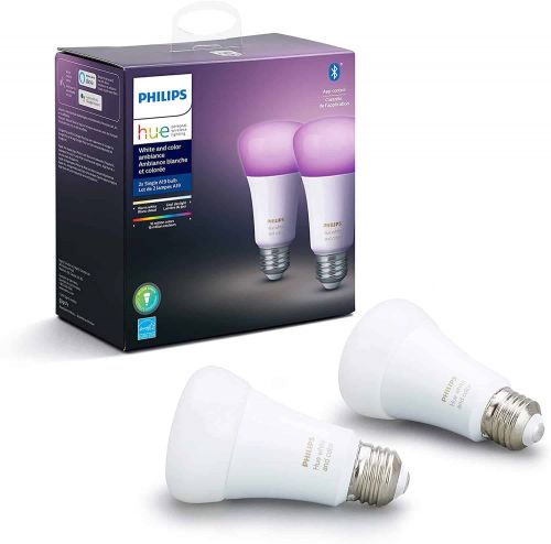 Philips Hue White & Color Ambiance 2-Pack Smart Bulbs For $64 - Early Black Friday Deals