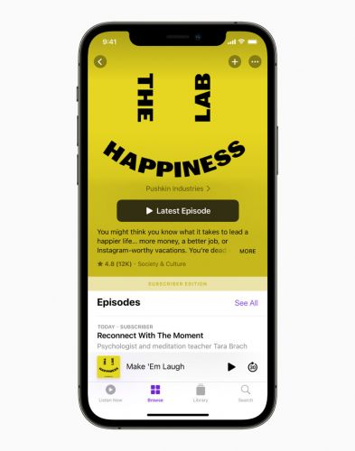 Apple Podcast Subscriptions launches today