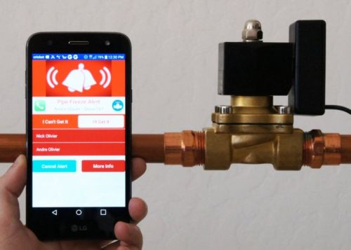 Trident smart water valve and companion app