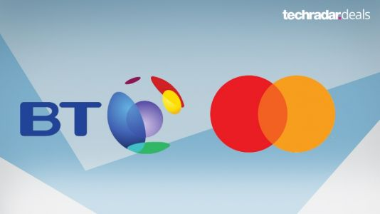 Get up to £140 in pre-paid Mastercards with BT's fibre broadband deals