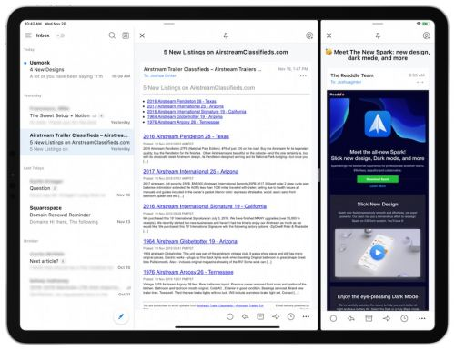 Spark Version 2.5 for iOS Brings New Design, Dark Mode, and Customizable Email Actions