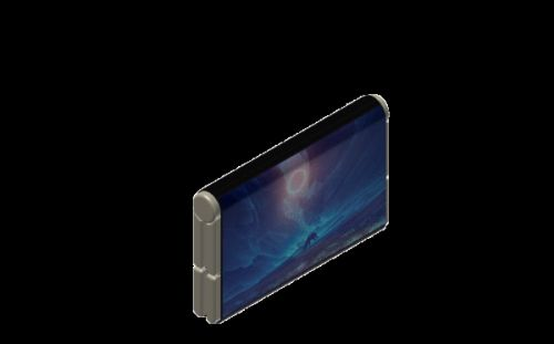 This Bizarre Smartphone Concept Is Both Foldable & Str