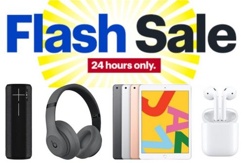 Deals: Best Buy's 24-Hour Flash Sale Has Notable Low Prices on AirPods, iPad, Beats, and More