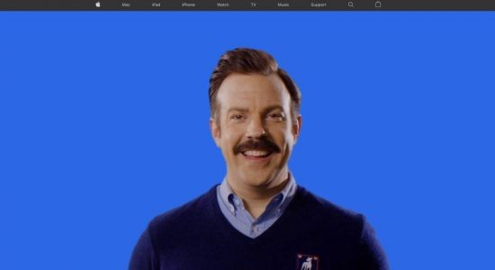 Ted Lasso takes over Apple.com for season 2 launch