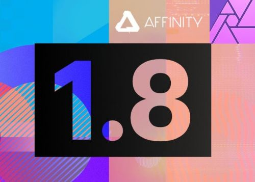Serif Affinity 1.8 update adds IDML, PSD smart objects imports, template support and more