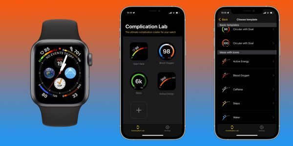 Hands-on: Making custom Apple Watch health complications with 'Complication Lab'