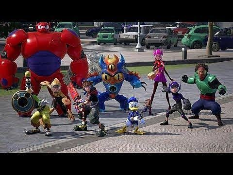 """Here's Your First Look At """"Big Hero 6"""" In Kingdom Hearts III"""