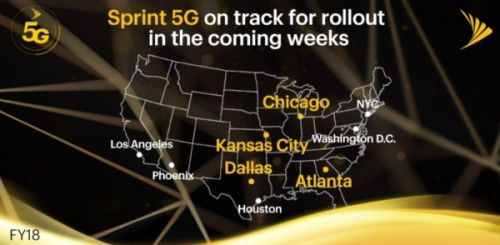 Surprise: Sprint May Have Stronger 5G Debut Than Verizon, AT&T