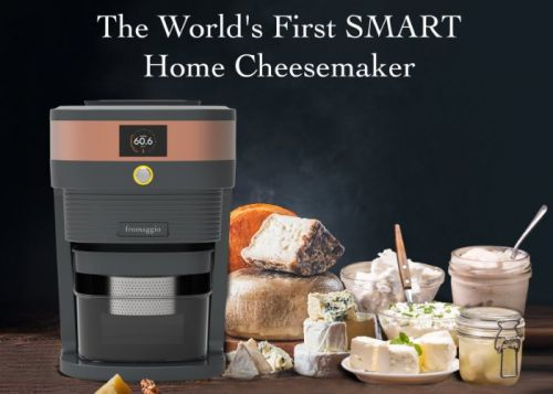 Fromaggio counter top home cheese maker machine