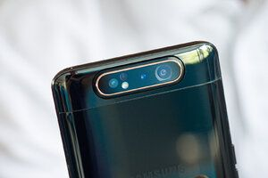 The Galaxy A80 is heavily discounted at Tesco Mobile right now