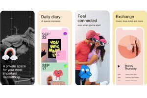 Facebook's new app Tuned offers a private space for couples