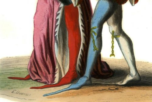 Medieval people suffered for fashion with their extremely pointy shoes