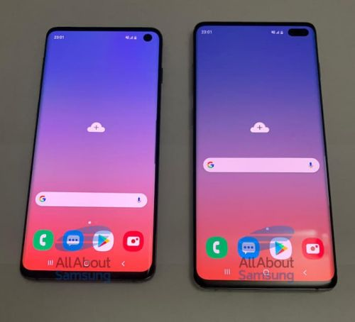 Here are some more photos of the Samsung Galaxy S10 and Galaxy S10 Plus