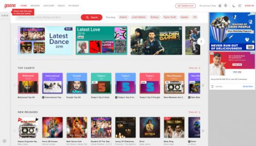 Indian music streaming giant Gaana reaches 100 million monthly users, expands into video