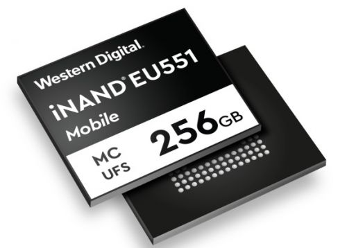 Western Digital launches UFS 3.1 flash memory for new generation of 5G smartphones